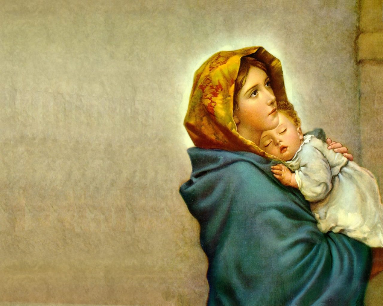 Holy mary virgin